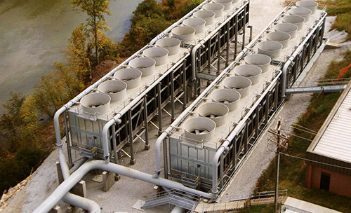 When considering improvements to cooling towers, it's important to perform an economic analysis of the options.