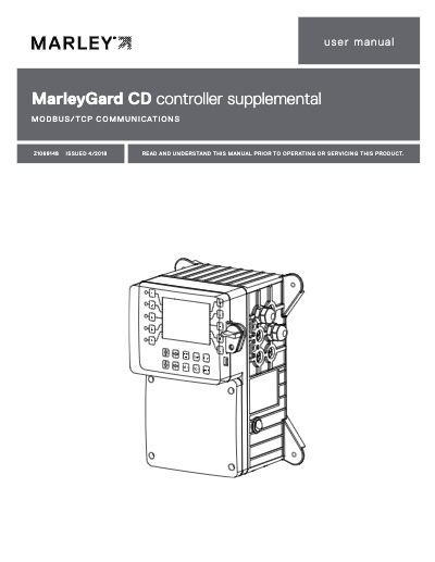 MarleyGard CD Controller MODBUS TCP User Manual