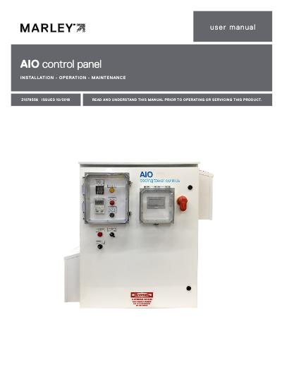 AIO Control Panel IOM User Manual