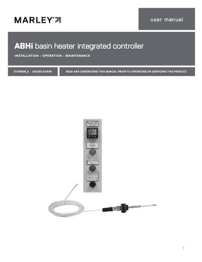 ABHi Basin Heater Integrated Controller User Manual